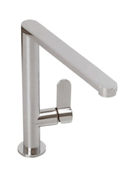 Abode Linear Single Lever Kitchen Tap Brushed Nickel