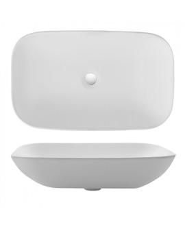 Bauhaus Gallery Serene Countertop Washbasin 580 x 350mm