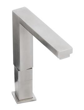Abode Vixo Monobloc Kitchen Tap Brushed Nickel