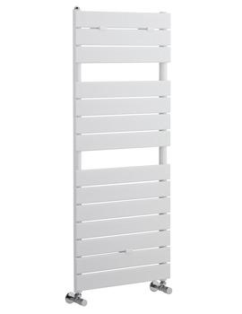 Hudson Reed Flat Panel 500 x 1213mm Heated Towel Rail