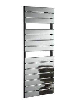 Apollo Palermo Chrome Flat Panel Towel Warmer 500 x 800mm