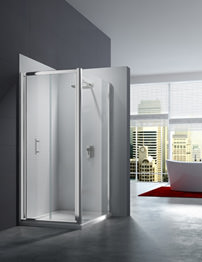 Merlyn 6 Series 4mm Clear Glass Bi-Fold Shower Door 1000mm