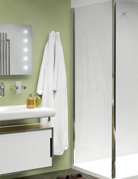 Merlyn 10 Series 800mm Shower Enclosure Side Panel