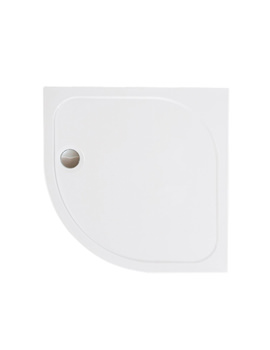 Merlyn Mstone Quadrant Shower Tray With Waste - 1000 x 1000mm