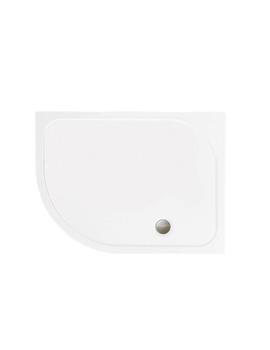 Merlyn Mstone Offset Quadrant Tray Left Handed With Waste 900 x 760mm