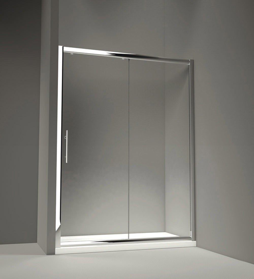 merlyn 8 series sliding shower door 1500mm