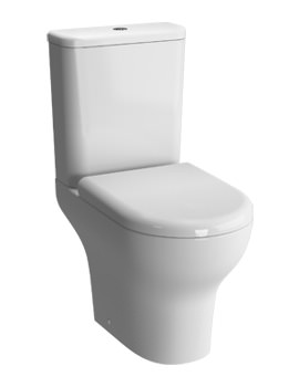 VitrA Zentrum Close Coupled WC Pan With Cistern And Seat - Closed Back