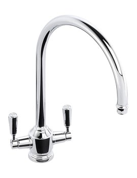 Abode Hargrave Chrome Monobloc Kitchen Tap