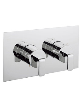 Crosswater KH Zero 1 Thermostatic Landscape Shower Valve With 2 Way Diverter
