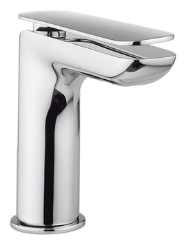 Crosswater Kelly Hoppen Zero 2 Monobloc Chrome Mini Basin Mixer Tap