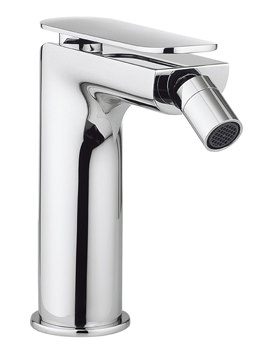 Crosswater Kelly Hoppen Zero 2 Monobloc Chrome Bidet Mixer Tap With Waste