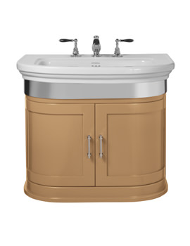 Imperial Carlyon Thurlestone 715mm Wall Hung Vanity Unit - Canvas Wheat