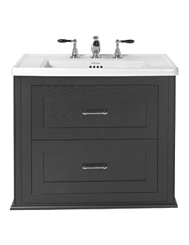 Imperial Radcliffe Thurlstone Wenge Wall Hung Vanity Unit
