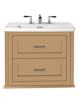 Imperial Radcliffe Thurlstone Canvas Wheat Wall Hung Vanity Unit