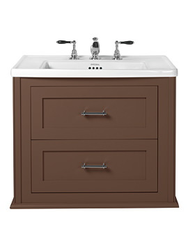 Imperial Radcliffe Thurlstone London Clay Wall Hung Vanity Unit