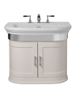 Imperial Carlyon Thurlestone 715mm Wall Hung Vanity Unit - White Linen