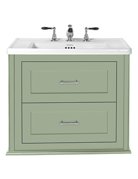 Imperial Radcliffe Thurlstone Sage Thistle Wall Hung Vanity Unit