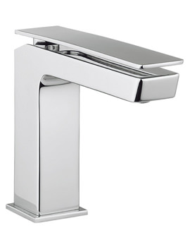 Crosswater Kelly Hoppen Zero 3 Monobloc Chrome Basin Mixer Tap