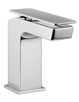 Crosswater Kelly Hoppen Zero 3 Monobloc Chrome Mini Basin Mixer Tap