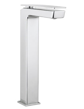 Crosswater Kelly Hoppen Zero 3 Monobloc Chrome Tall Basin Mixer Tap