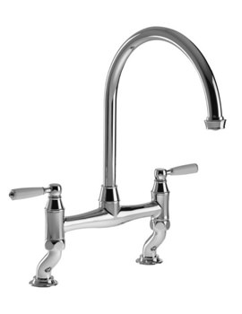 Abode Astbury Chrome Bridge Kitchen Tap