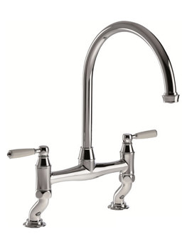 Abode Astbury Bridge Kitchen Tap - Pewter