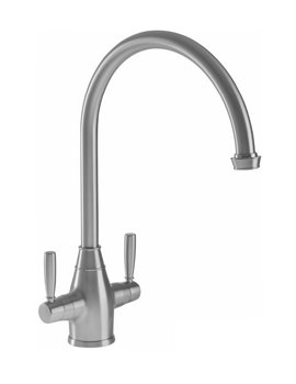 Abode Brompton Monobloc Chrome Kitchen Tap