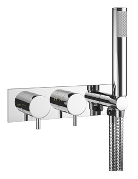 Crosswater Mike Pro Thermostatic Chrome Shower Valve With Kit
