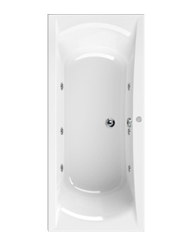 Aquaestil Arena 1700 x 750mm Whirlpool Bath