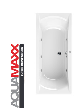 Aquaestil Arena Aquamaxx 1800 x 800mm Whirlpool Bath