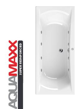 Aquaestil Arena Aquamaxx 1900 x 900mm Whirlpool Bath With 8 Jets
