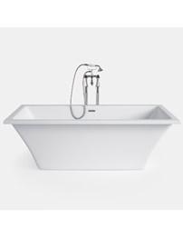 Heritage Rosedene 1800 x 850mm Freestanding Double Ended Acrylic Bath