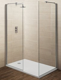 Balterley Minimalist Walk-In Shower Enclosure 1700 x 800mm