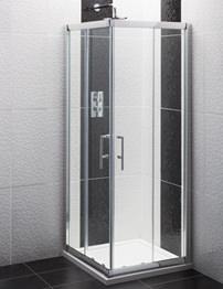 Beo Framed Corner Entry Shower Enclosure 760mm