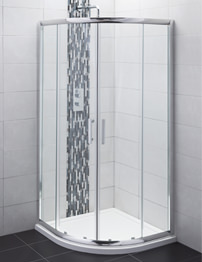 Balterley Framed 800mm Double Door Quadrant Shower Enclosure