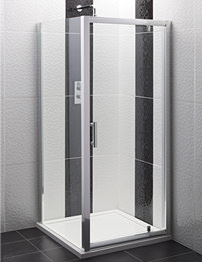 Balterley Framed Pivot Shower Door 760mm
