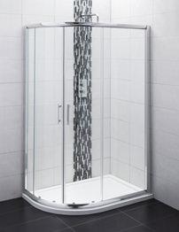 Balterley Framed 1200 x 900mm Offset Quadrant Shower Enclosure