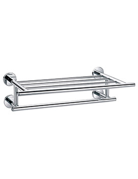 Flova Coco 544mm Quad Bar Tiered Towel Rail