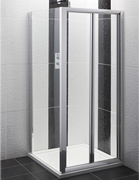 Balterley Framed Bi-fold Shower Door 900mm
