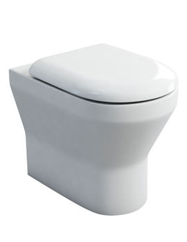 Britton Curve S30 Back To Wall WC With Carbamide Soft Close Angled Seat