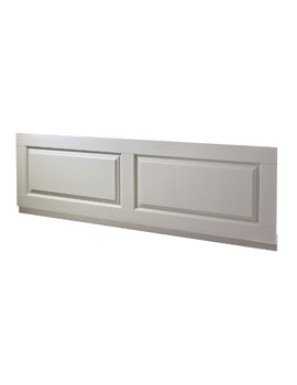 Old London Stone Grey 1700mm Bath Front Panel With Plinth