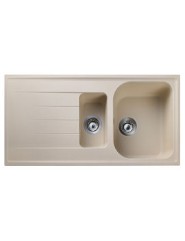 Rangemaster Amethyst 1.5 Bowl Stone Finish Igneous Granite Sink