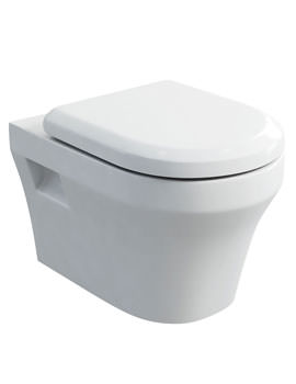 Britton Fine S40 Wall Hung WC With Carbamide Soft Close Seat