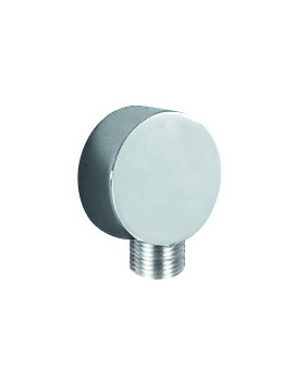 Flova Annecy Round Wall Mounted Shower Outlet Elbow