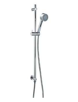 Flova Levo Triple Function Shower Slide Rail Set With Wall Outlet