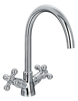 Flova Elegance Monobloc Two Handle Kitchen Sink Mixer Tap