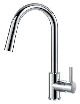 Flova Levo Single Lever Pull-Down Spray Kitchen Sink Mixer Tap