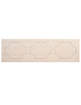 Tavistock Milton 1600mm Front Bath Panel Limed Oak