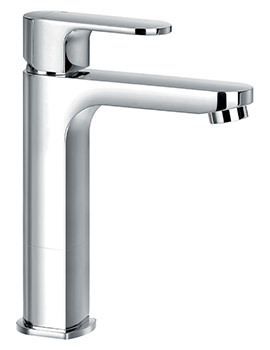 Flova Smart Mid Height Monobloc Single Lever Basin Mixer Tap With Waste