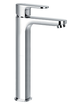 Flova Smart Tall Monobloc Single Lever Basin Mixer Tap With Waste